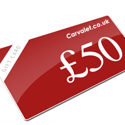 carvalet.co.uk's vouchers page