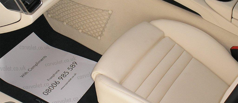 An example of our Diamond plus service interior